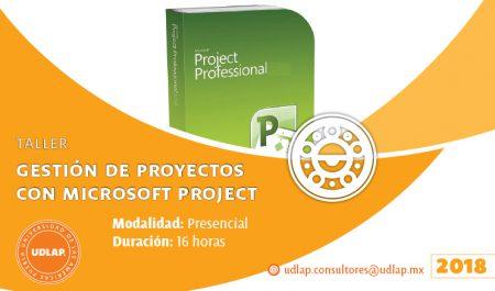 Gestión de proyectos con Microsoft Project