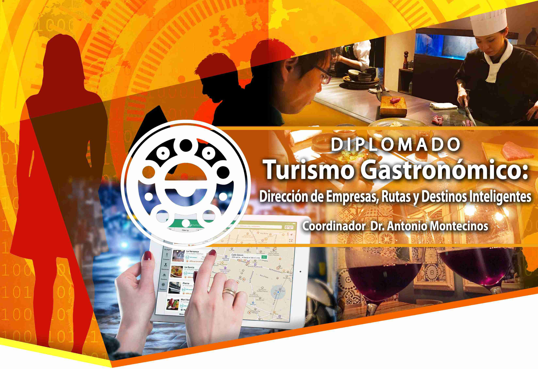 Turismo Gastronómico: dirección de empresas, rutas y destinos inteligentes